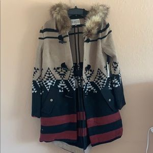 Size xs BB Dakota blended coat